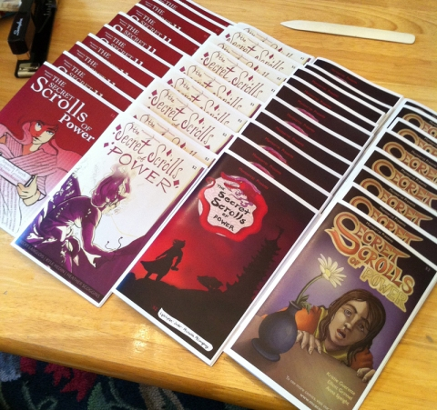 Ashcan/Minicomics for Boston Comic Con