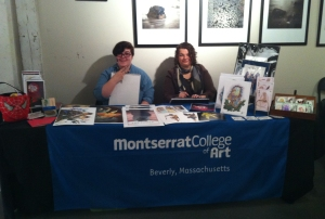 Sami and Kat at the Montserrat Booth, Bevely Comic Con 2