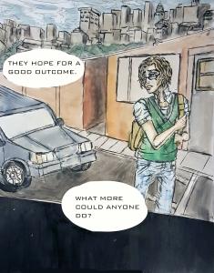 A Nightmare Sized Intrusion - Comic - Ch0 P2